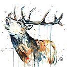 Elk Calling by Lisa Whitehouse