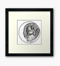 MAIDEN OF THE MOON Framed Print