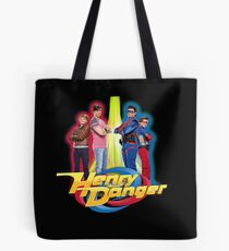 Henry Danger Secret Identities Tote Bag