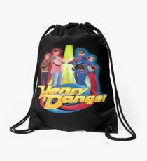 Henry Danger Secret Identities Drawstring Bag