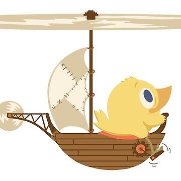 Bird pilot by dodobaby