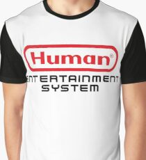 Human Entertainment System Graphic T-Shirt