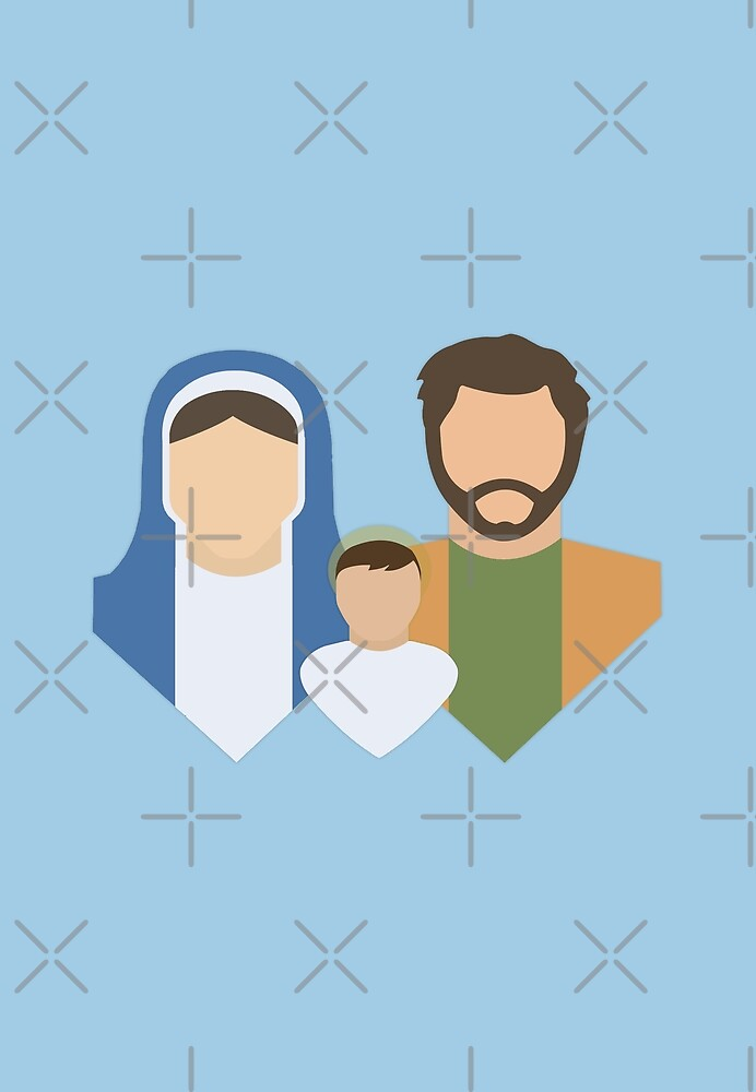 The Holy Family by All Saints Shop