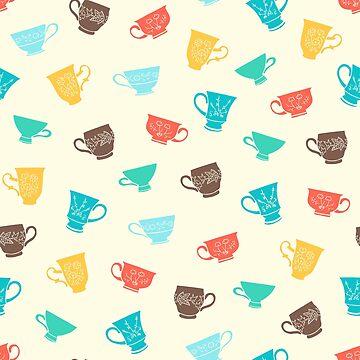 Teacups by celerywoulise