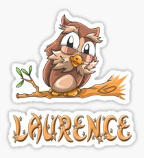 Laurence Owl Sticker