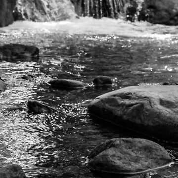 Black and White Water by ClassyClarence