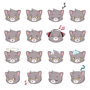 Collection of cute cats  by bounab2018
