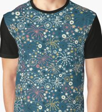 There are fireworks everywhere color variation 2 Graphic T-Shirt