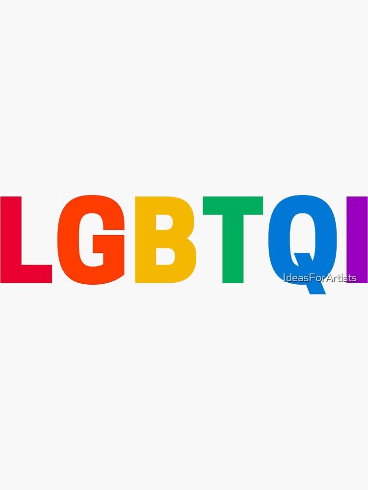 LGBTQI by IdeasForArtists