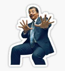 Neil Degrasse Tyson Funny Meme Sticker