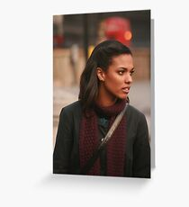 Freema Agyeman AKA Martha Jones Greeting Card