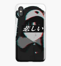 SERIAL EXPERIMENTS LAIN VAPORWAVE ANIME AESTHETIC iPhone Case/Skin