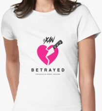 LIL XAN BETRAYED OFFICIAL COVER HIGH QUALITY RENDER Women's Fitted T-Shirt
