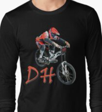 For lovers of Downhill sports Long Sleeve T-Shirt