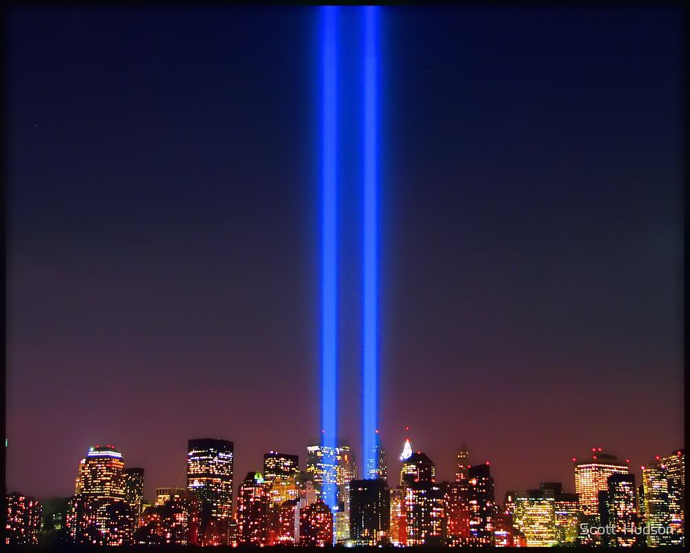 911 WTC Tribute in Light by Scott  Hudson