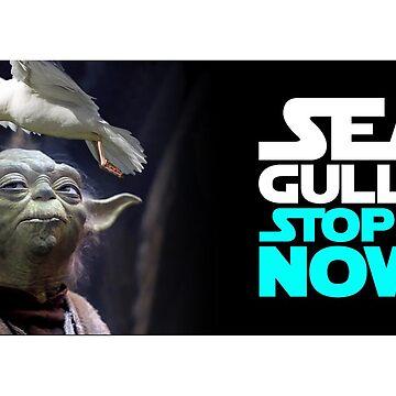 Seagulls! by knollgilbert