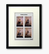 Frank Photoset Framed Print