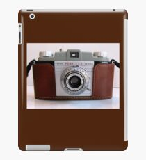 1950s 35mm Camera With Case iPad Case/Skin