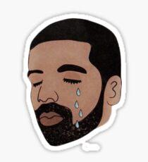 Crying Drake  Sticker