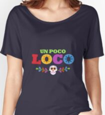 UN POCO LOCO Women's Relaxed Fit T-Shirt