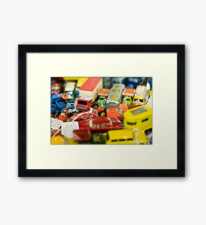 Red Lorry Yellow Lorry Framed Print
