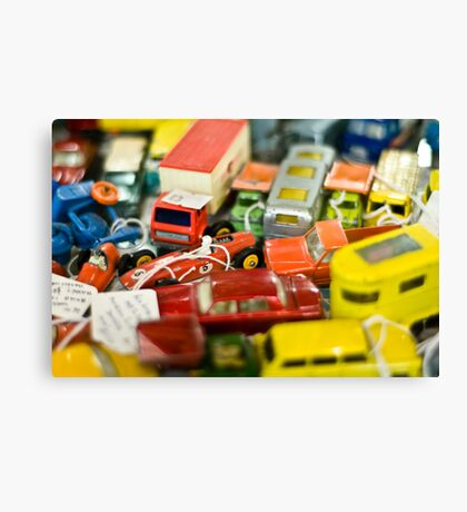 Red Lorry Yellow Lorry Canvas Print