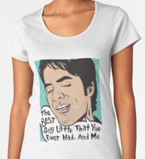 The Best Soy Latte That You Ever Had, And Me. Women's Premium T-Shirt