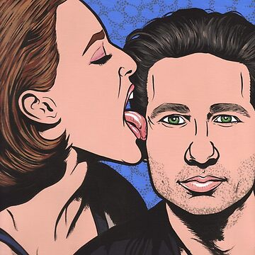 Mulder and Scully X Files by turddemon