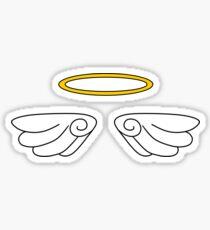 Halo Wings Sticker