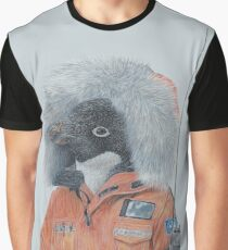 Antarctic Penguin Graphic T-Shirt
