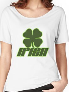 Irish St. Patrick's Day 4 Leaf Clover Women's Relaxed Fit T-Shirt