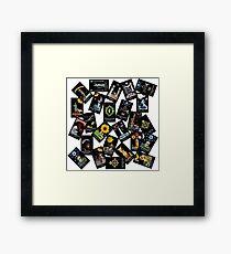 Tarot - Major Arcana - Random Cards Framed Print