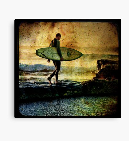 The Ocean Is The Cure Canvas Print