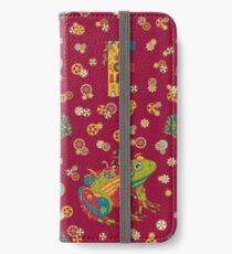 Frog, from the AlphaPod collection iPhone Wallet/Case/Skin