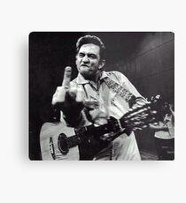 Johnny Cash Metallbild