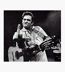 Johnny Cash Photographic Print
