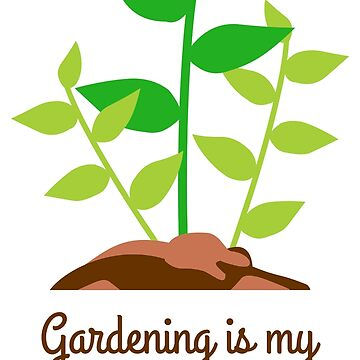 Gardening T-Shirt by evisionarts