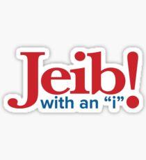 """Jeib! —With an """"i"""" Sticker"""