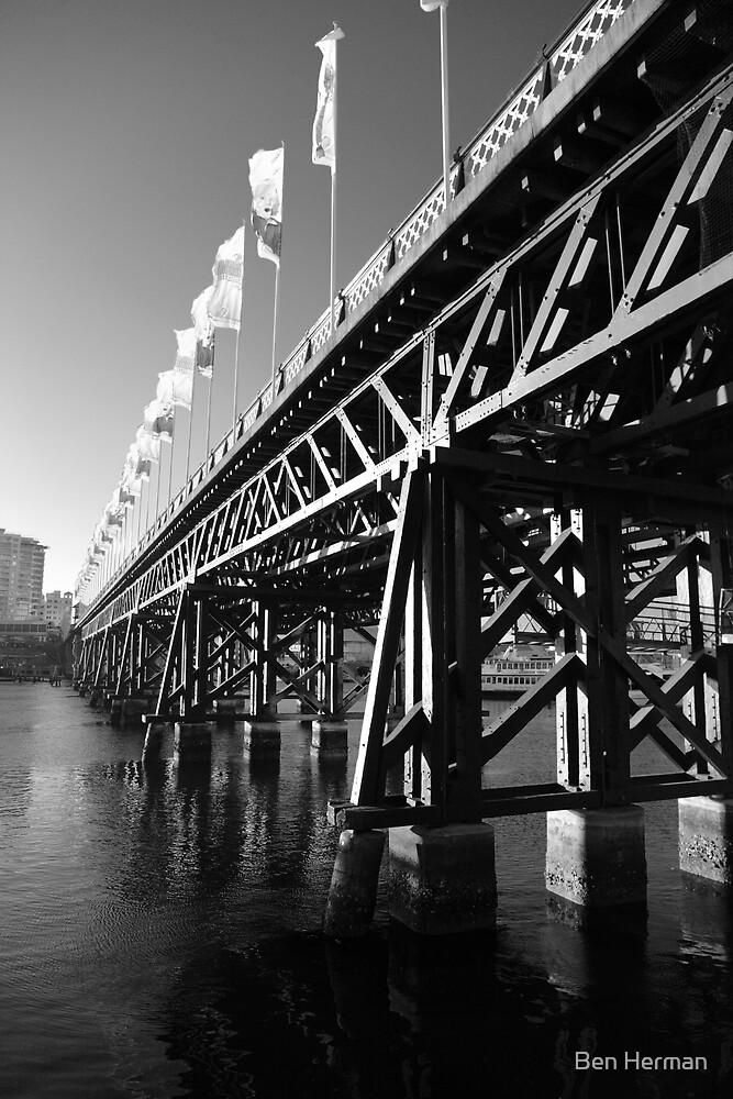 Pyrmont Bridge by Ben Herman