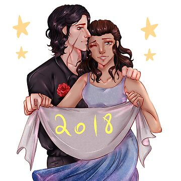 Reylo - Happy New Year (no background) by supernovajazzy