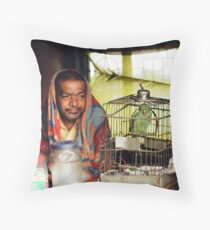 Companion in Time Throw Pillow