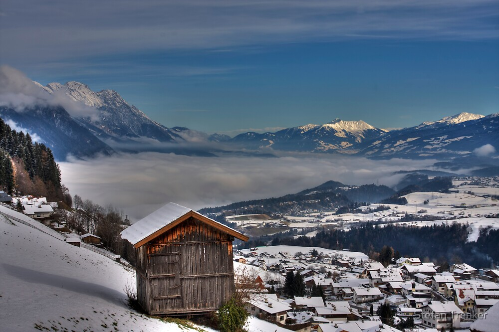 Barn with a view by Stefan Trenker