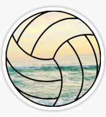 Beach Volleyball Sticker