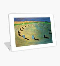 Merry Maidens Stone Circle, Cornwall. Laptop Skin