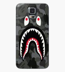 Shark Black Bape Case/Skin for Samsung Galaxy