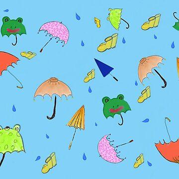 Rainy days   by OllieandQuinn