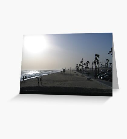 Baywatch Greeting Card