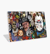 horror movies Collage Laptop Skin