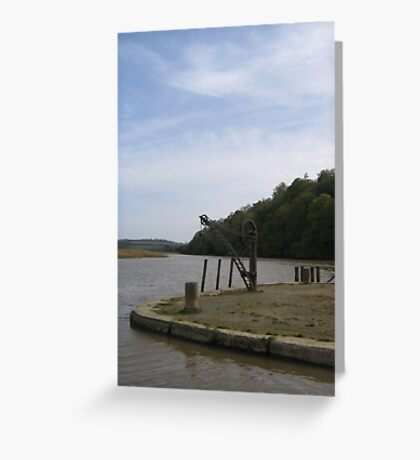 Cothele Cornwall Greeting Card