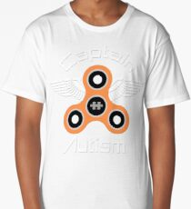 Captain autism saves the day - autism awareness Long T-Shirt